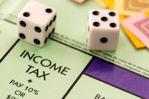 income tax monopoly
